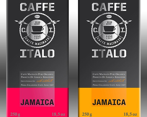 naming logo brand CAFFE ITALO COFFEE