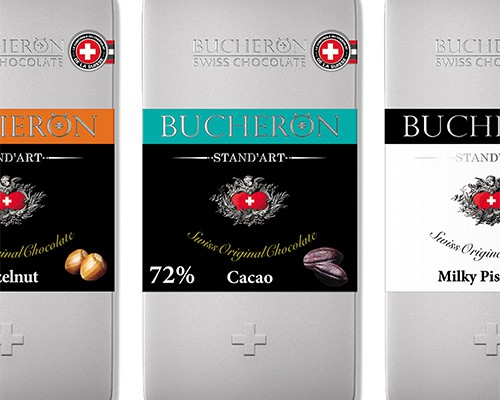 brand logo chocolate BUCHERON