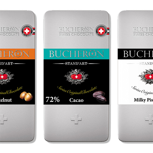 brand logo chocolate BUCHERON