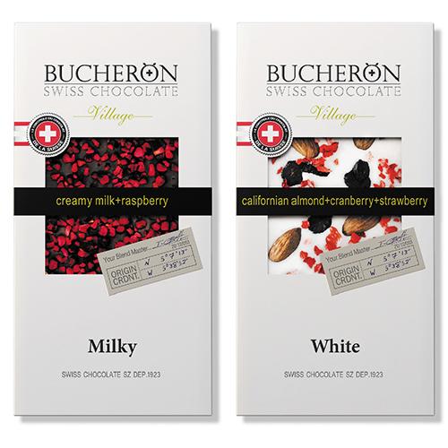 brand logo chocolate BUSHERON