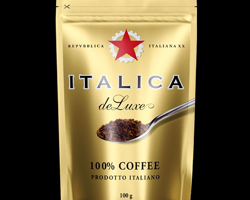 brand logo package CAFFEE ITALICA
