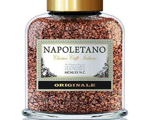 brand logo coffee NAPOLETANO